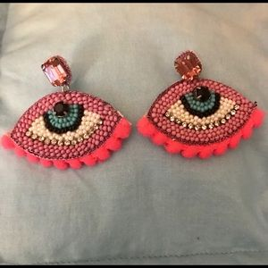 "Unique ""eyes"" earrings set of two pairs!"